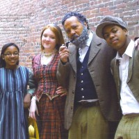 Cast of William Hall Play